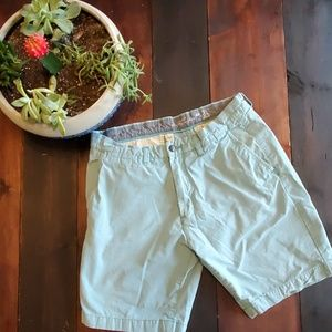 🍒3/$25 H&M L.O.G.O pale blue chino shorts